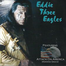 Red, White and Blue by Eddie Three Eagles (CD, 2001)