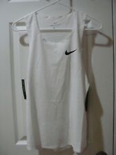 Men's Nike Aeroswift Running Tank Top Singlet AQ5247 100 Size S, M