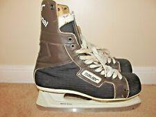 VTG Size 10 Adult Bauer Professional 91 Hockey Skates
