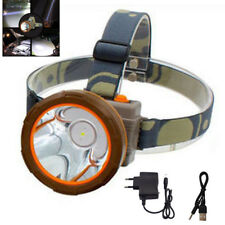 Rechargeable Powerful LED Headlight Headlamp head Lamp Flashlight Torch Camping