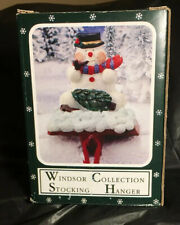 Windsor Collection Snowman Stocking Hanger