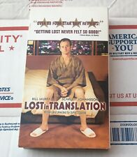 Lost in Translation Vhs Tape 2003 Bill Murray