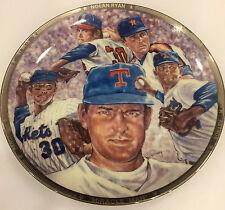 "Nolan Ryan ""Miracle Man"" 1991 Sports Impressions Platinum Edition Plate #149"