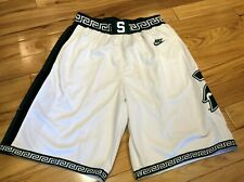 Nike Mateen Cleaves Michigan State Spartans Throwback Shorts CN2839 100 MEDIUM