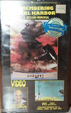 Remembering Pearl Harbor VHS USS Arizona Memorial Telly Savalas
