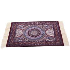 Magical Persian Mouse Pad Rug Bohemia Carpet Purple Crown Mousepad Table Cu W8T1
