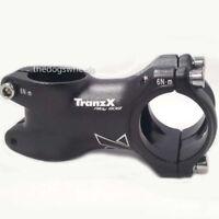 "Tranz X 31.8mm x 60mm Mountain Bike MTB Handlebar Stem Black 1.1/8"""