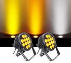 (2) Chauvet DJ SlimPar Pro W USB D-Fi Variable White Par Can Wash Light Fixtures