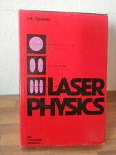 Laser Physics Tarasov Mir Publishers 1983