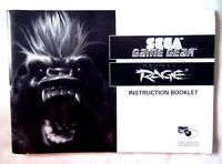 61158 Instruction Booklet - Primal Rage - Sega Game Gear (1995)