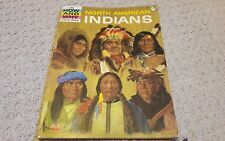 Vintage The HOW AND WHY wonder book of North American Indians