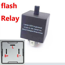 3-Pin LED Flasher Relay Adjustable Electronic for auto motorcycle Signal Light