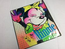 "Vintage Disney Minnie Mouse ""Electric Mouse"" 3-Ring Binder 90s Mead"