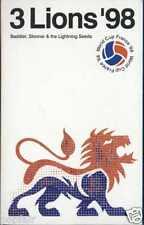 BADDIEL & SKINNER & LIGHTNING SEEDS - 3 LIONS '98 UK CASSINGLE CARD SLEEVE SLIP