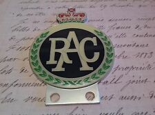 RAC CAR BADGE ENAMELLED AUTOMOTIVE CLUB AA