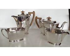 Scottish Art Deco Rattray & Co Dundee Silverplate Tea & Coffee Service