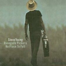 Steve Young 2 CD Renegade Picker/No Place to Fall rare OOP