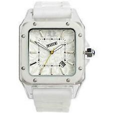 Urbanz Ice White Date Display Fashion Girls Wrist Watch