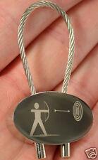 Bogenschießen Schlüsselanhänger Sport Bogenschütze