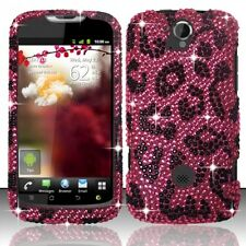 T-Mobile Huawei myTouch Q U8730 Crystal BLING Case Phone Cover Hot Pin