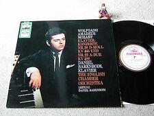 MOZART piano concerts 20 & 23 BARENBOIM Eco ORIG GER LP ELECTROLA SME 91656