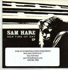 (CB543) Sam Hare, Her Time Of Day EP - 2011 DJ CD