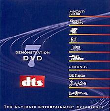 New! DTS 5.1 6.1 & ES Demo #7 Genuine DVD Rare!