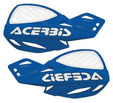 Acerbis Uniko Blue Vented Plastic Hand Guards Fits Yamaha Dirt Bikes Motorcycle