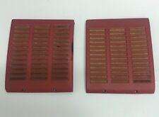 72 - 89 Mercedes Benz R107 Dash Board Speaker Cover Set, Red