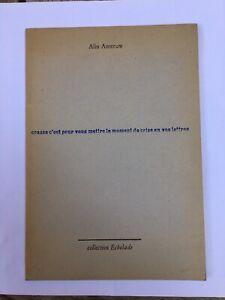 Alin Anseeuw , Crasse c'est pour vous mettre le moment de crise en vos lettres -