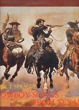 CARL T SPRAGUE cowboy songs from texas GERMAN 1978 EX LP