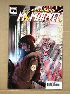 Magnificent Ms. Marvel #1 1:25 Tarr Variant NM Kamala Khan MCU Disney+