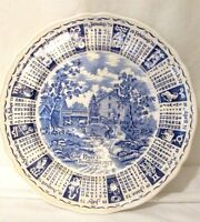"""Zodiac Plate """"God Bless This House"""" 1972 Alfred Meakin Staffordshire England"""