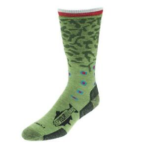 Rep Your Water - Trout Socks   Brook Trout