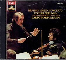 Itzhak Perlman, Carlo Maria Giulini - Brahms Violin Concerto CD New Sealed