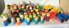 You Choose Vintage Fisher Price Little People HUGE VARIETY Castle, Western, Wood