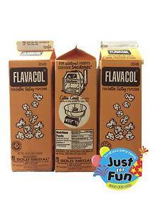 992(grams) Genuine FLAVACOL Butter Popcorn Salt!  Cinema Quality Popcorn Salt