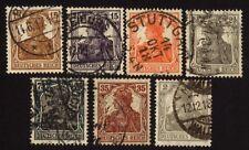 Imperio alemán 98/104 libre de marcas con sello