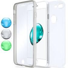 360 Grados Completamente Funda Protectora Para IPHONE 8 Plus 7 Transparente Full
