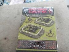 Flames of war  BB120  Sandbag Gun Pits
