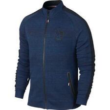 2017 Francia Fff Tech Chaqueta de Lana (Azul) Camiseta Azul N98 Cremallera