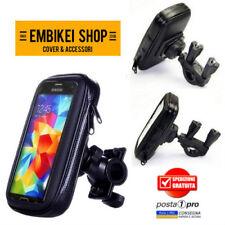 PORTACELLULARE BICI MOTO STAFFA SUPPORTO CELLULARE PER Smartphone Samsung iPhone