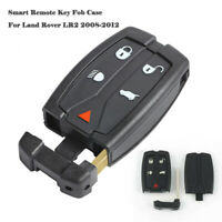 5Button Smart Remote Key Fob Case With Shell Blade For Land Rover LR2 2008-2012