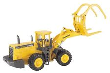 Joal 204 Komatsu WA600-3 Wheel Log Loader w/High Capacity Grapple 1/50 MIB