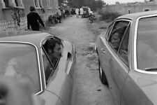 THE PERSUADERS TONY CURTIS ROGER MOORE FERRARI DINO ASTON MARTIN CARS 8X12 PHOTO