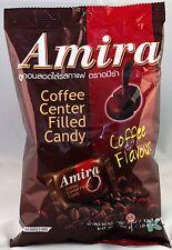 1 BAG Amira Thai Coffee Center Filled Hard Candy 10.5oz 100pcs Thailand