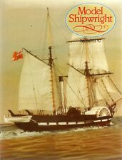 Model Shipwright No 97  (Conway 1996 1st) with Modellers Draught plan
