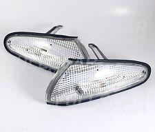 MITSUBISHI 1992-1994 ECLIPSE CLEAR CORNER LIGHT PAIR SET