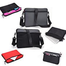 """Travel Business Shoulder Messenger Bag Pouch Case for 11.6"""" 12"""" Laptop Ultrabook"""