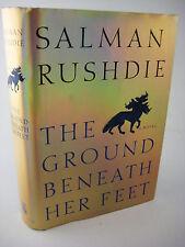 1st Edition GROUND BENEATH HER FEET Salman Rushdie NOVEL First Printing FICTION